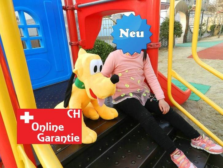 Disney Plüschtier Pluto Plüschfigur Hund Mickey Micky Maus XXL Plüschhund Kind Kinder Kinderzimmer Spielzeuge & Basteln 2