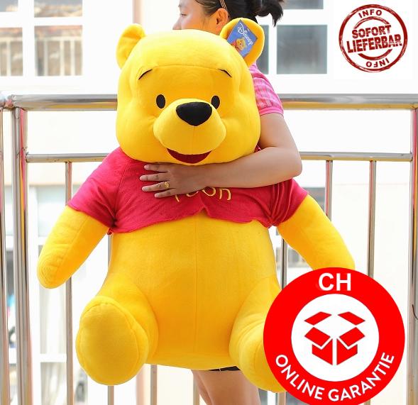 Disney Winnie Puuh Pu der Bär Plüsch Winnie Pooh Plüschbär Teddy XXL 110cm Geschenk Kind Kinder / Neu   Spielzeuge & Basteln
