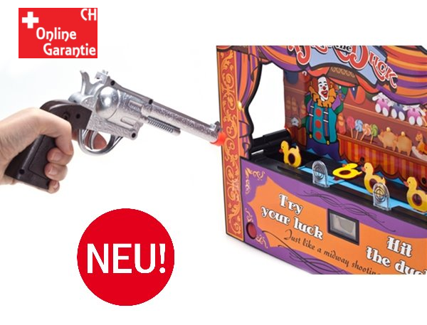 Duck Shoot Enten Schiessbude Spielzeug Enten Schiessen Infrarot Pistole Spielzeug Jahrmarkt Zuhause Geschenk Kind Party Spass  Spielzeuge & Basteln 2