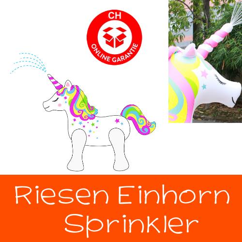 Einhorn Sprinkler Wasser Spielzeug Sommer Wasserspielzeug Unicorn Garten Badi Zuhause Gartenschlauch Sprinkleranlage Neu Baby & Kind