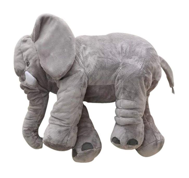 Elefant Elefanten Kissen Elefantenkissen Baby Kind Kinder Kinderzimmer Plüschtier XXL 80cm Geschenk Mutter Mütter Antiquitaeten 2