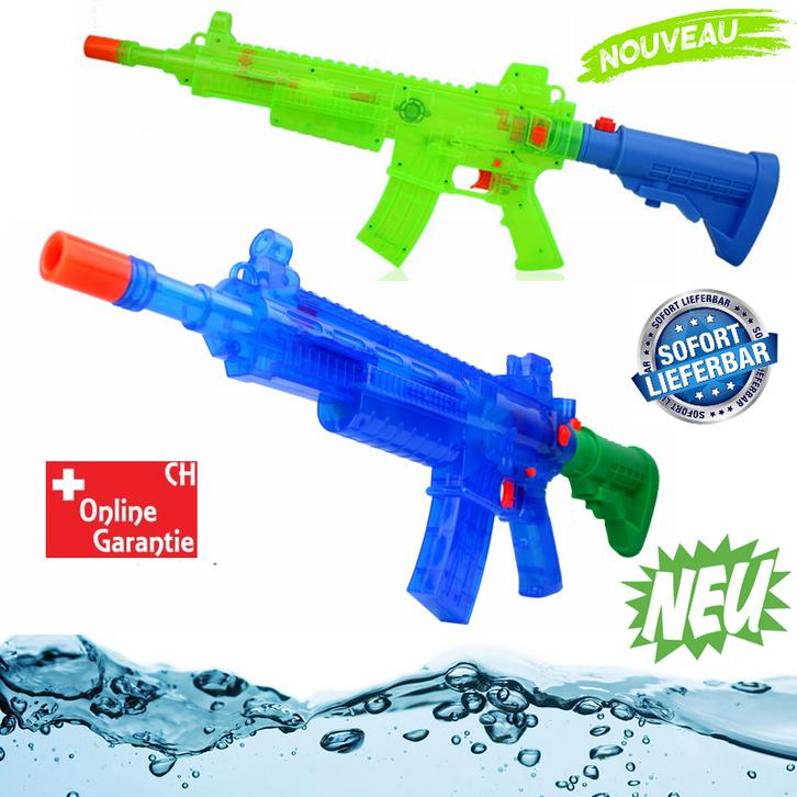 Elektrisches Wasser Gewehr Wassergewehr Wasserpistole Wasser Spielzeug Sommer Batteriebetrieben Spielzeuge & Basteln