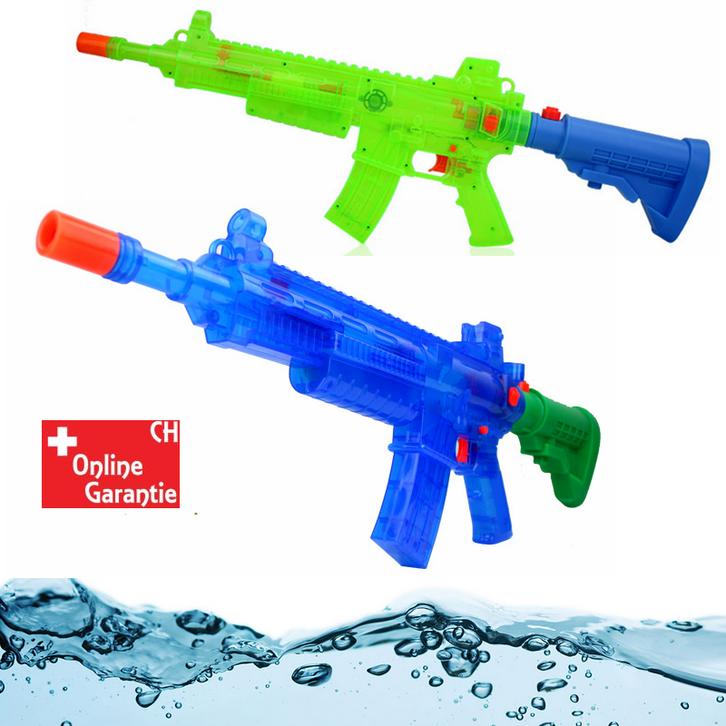 Elektrisches Wasser Gewehr Wasserpistole Wassergewehr Sommer Wasser Spielzeug Kinder Batteriebetrieb Sport & Outdoor