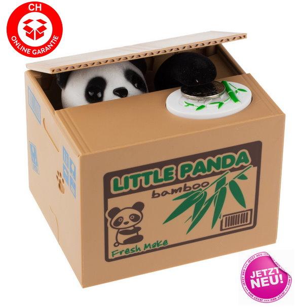 Elektronische Panda Geld Sparbox Spardose Sparschwein Schwein Geschenk Münz Rappen Behälter Sonstige