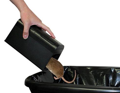Elektronische Rattenfalle Mäusefalle Ratten Ratte Maus Mäuse Falle Killer ungiftige Schädlingsbekämpfung Haushalt 2