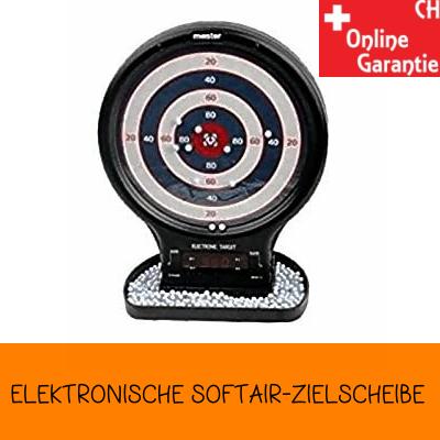 Elektronische Softair Zielscheibe Airsoft Sticking Target BB Zubehör BB's Zilschiba Sport & Outdoor