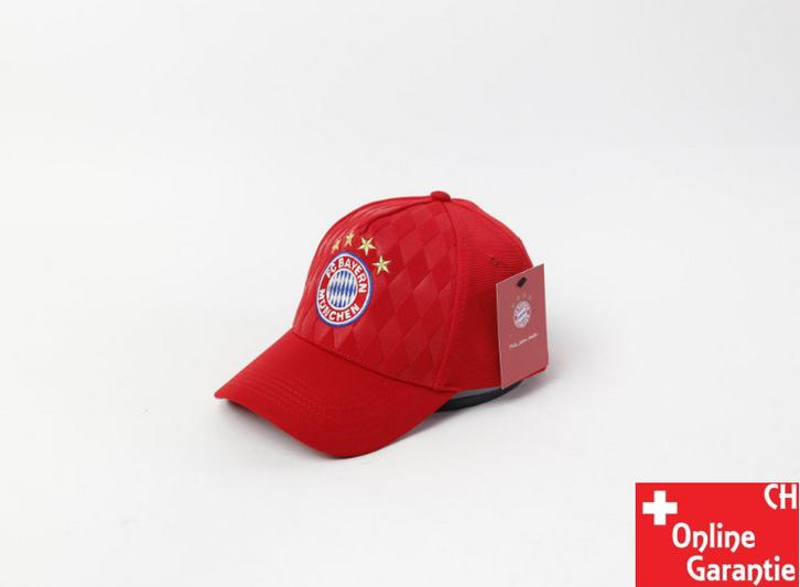 FC Bayern München FCB Fussball Baseball Cap Mütze Kappe Fan Schwarz oder Rot Sport & Outdoor