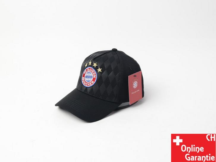 FC Bayern München FCB Fussball Baseball Cap Mütze Kappe Fan Schwarz oder Rot Sport & Outdoor 2