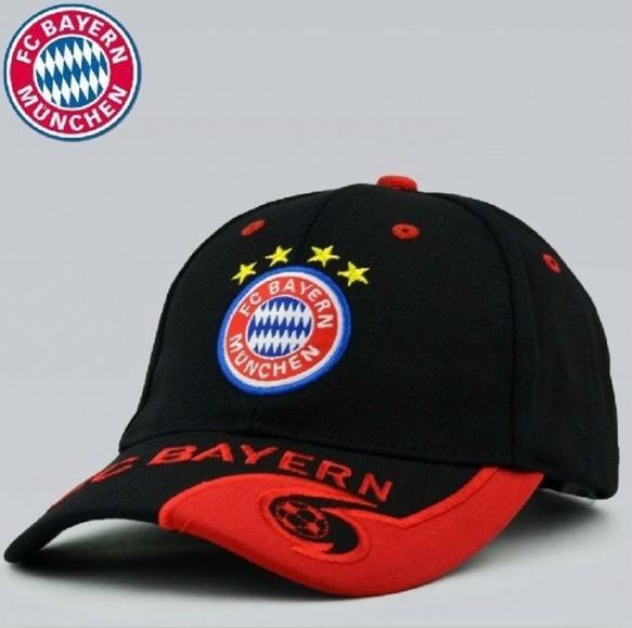 FC Bayern München Fussball Fan Cap Mütze Kappe Fancap Rot Blau Schwarz