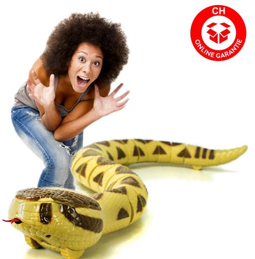 Ferngesteuerte RC Infrarot Klapperschlange Rattlesnake Spielzeug Schreck Geschenk Kinder Spielzeuge & Basteln