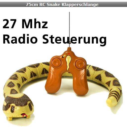 Ferngesteuerte RC Infrarot Klapperschlange Rattlesnake Spielzeug Schreck Geschenk Kinder Spielzeuge & Basteln 2