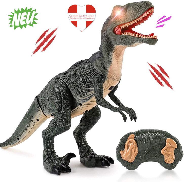 Ferngesteuerter Dinosaurier Velociraptor Spielzeug RC Dino Raptor Dinospielzeug Geschenk Kind Kinder Schweiz Baby & Kind