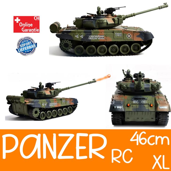 Ferngesteuerter Militär Panzer Tank RC Airsoft Softair BB Kugeln Schiess Funktion Spielzeug Spielzeuge & Basteln
