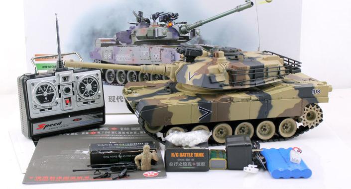 Ferngesteuerter Militär Panzer Tank RC Airsoft Softair BB Kugeln Schiess Funktion Spielzeug Spielzeuge & Basteln 2