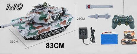 Ferngesteuerter XXL Panzer RC Tank Modellbau 83cm BB Airsoft Spielzeuge & Basteln 2
