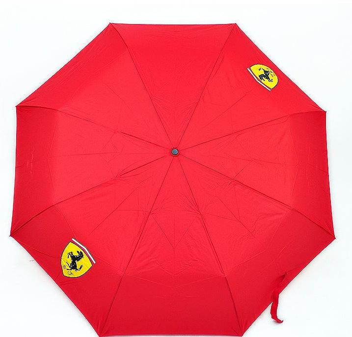 Ferrari Fan Scuderia Ferrari Regenschirm Taschenschirm Rot Geschenk Unisex für für Mann und Frau geeignet Kleidung & Accessoires 2