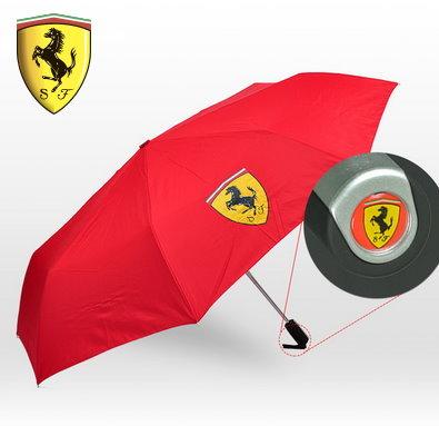Ferrari Scuderia Fan Schirm Regenschirm Automatik Rot Fan Shop Fahrzeuge