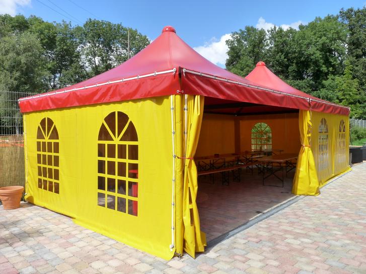 Festzelt Pavillon Unterstand Bedachung Garten & Handwerk