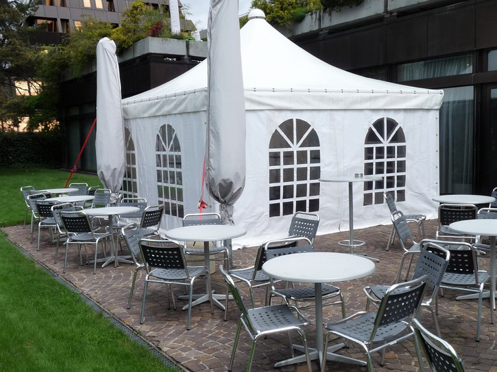 Festzelt Pavillon Unterstand Bedachung Garten & Handwerk 2