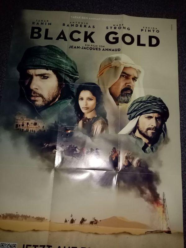 Film Plakat Orginal A1  Black Gold Sammeln 3