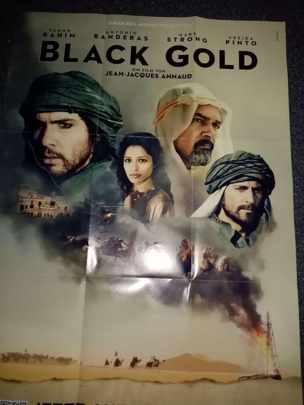 Film Plakat Orginal A1  Black Gold Sammeln 4
