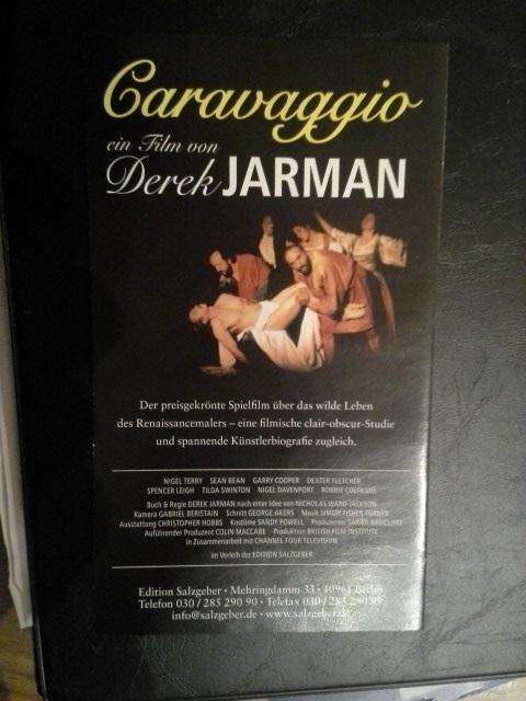 Flyer 1986 Caravaggio Homo Künsterbiografie Sammeln 2