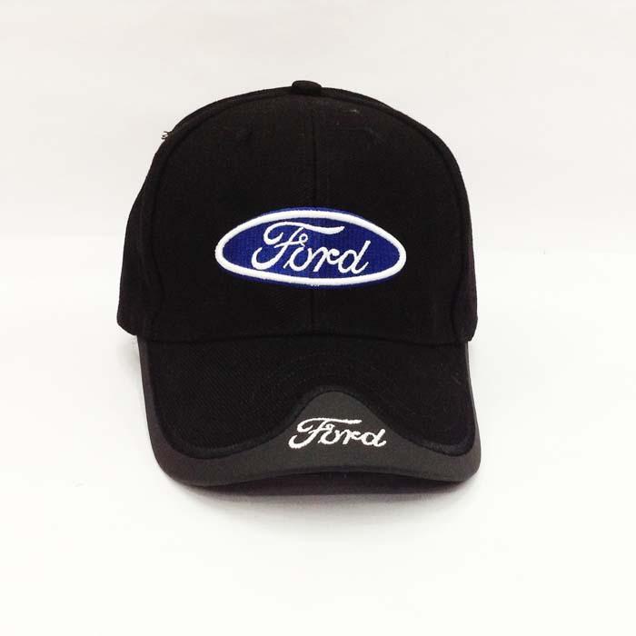 Ford Cap Mütze Kappe Fan Basketballmütze Schwarz Kleidung & Accessoires
