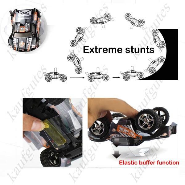 Funkgesteuertes RC 2.4 GHZ Top Mini Stunt Auto 1:12 Spielzeug Auto 5 KanalZu den Favoriten hinzufügen Neu Spielzeuge & Basteln 2