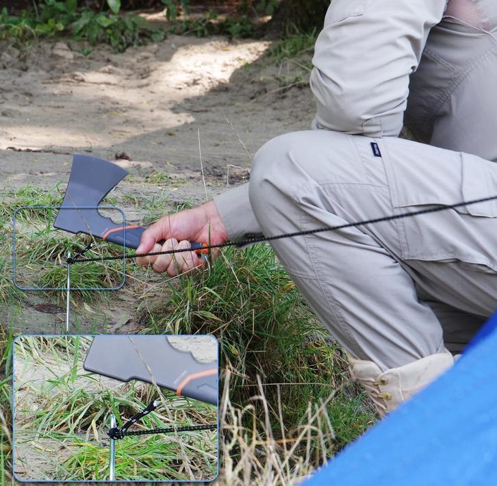 GERBER Bear Grylls Survival Axt | Camping-Beil  Garten & Handwerk 3