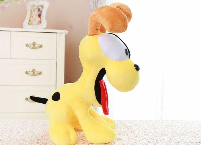 Garfield Odie Plüsch Hund Plüschhund Plüschtier Kuschel Stofftier Comic Serie Kino Film Geschenk ca. 65cm Spielzeuge & Basteln 2