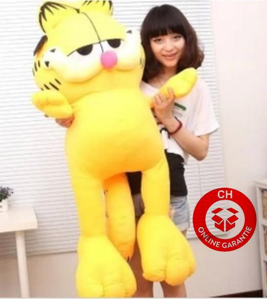 Garfield ca. 125 cm Katze Stofftier Kuscheltier Plüschtier Plüsch Figur Kater XXL Grösse Geschenk Baby & Kind