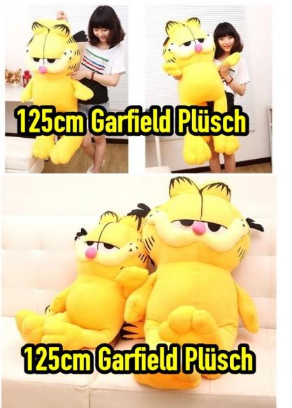 Garfield ca. 125 cm Katze Stofftier Kuscheltier Plüschtier Plüsch Figur Kater XXL Grösse Geschenk Baby & Kind 2