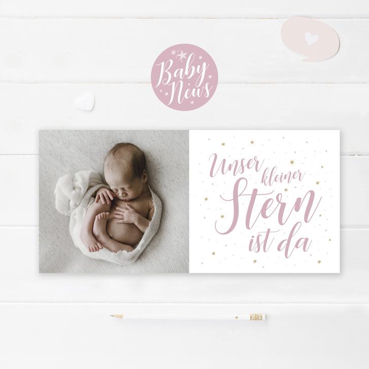 Geburtskarten und Dankeskarten mit WOW-Effekt Baby & Kind
