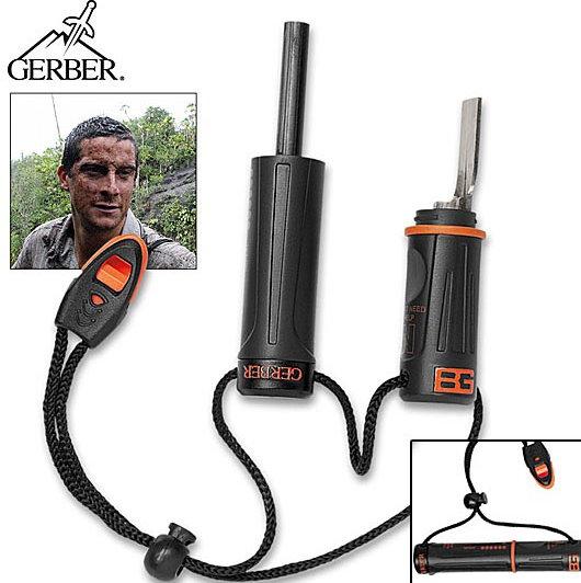Gerber Bear Grylls Feuerstein Feuerstarter Survival Series Outdoor Camping Feuer Sport & Outdoor