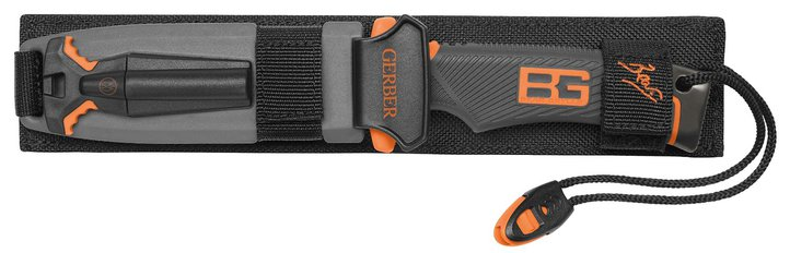 Gerber Messer Bear Grylls Ultimate Messer glatte Klinge Version bekannt aus TV Serie DMAX Schweiz Feuerstein Sport & Outdoor 3