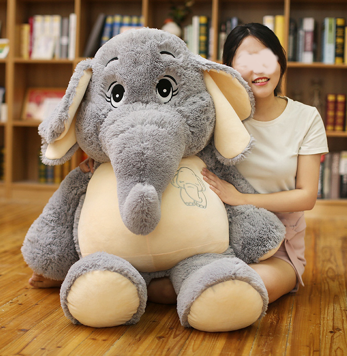 Elefant Elefanten Plüsch Plüschtier Kuscheltier XXL Geschenk Kind Kinder Frau Freundin Schweiz Spielzeuge & Basteln 2
