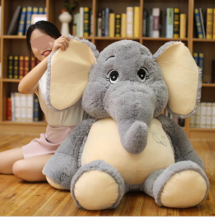 Elefant Elefanten Plüsch Plüschtier Kuscheltier XXL Geschenk Kind Kinder Frau Freundin Schweiz Spielzeuge & Basteln 3
