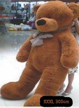 Gigantischer XXXL Plüsch Teddybär Bär Plüschbär Teddy Ted Dunkelbraun Plüschtier Kuscheltier Geschenk Kind Kinder Freundin XXL Baby & Kind 2