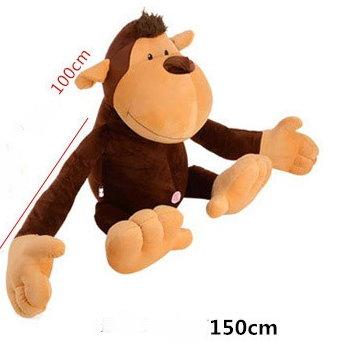 Grosser XXL Affe Plüsch Plüschaffe Monkey Geschenk Frau Freundin Kuscheltier Baby & Kind 3