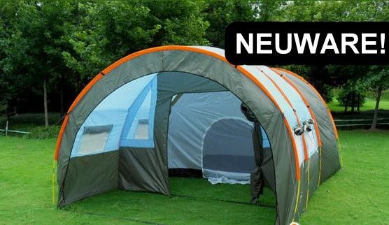 Grosses Tunnel Zelt Partyzelt Hauszelt Camping Openair für ca. 5-8 Personen Schlafabteil Schweiz Ferien Outdoor Reisen Sonstige 2