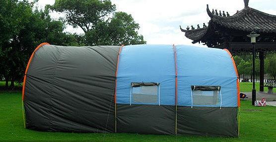Grosses Tunnel Zelt Partyzelt Hauszelt Camping Openair für ca. 5-8 Personen Schlafabteil Schweiz Ferien Outdoor Reisen Sonstige 4