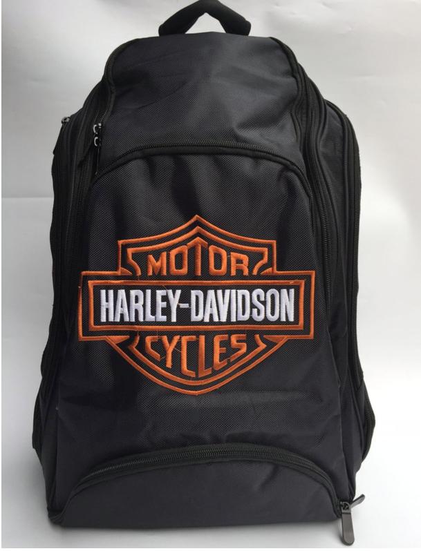 Harley-Davidson Harley Rucksack Fan Schwarz Biker Reisen Outdoor Geschenk Fanshop Kleidung & Accessoires