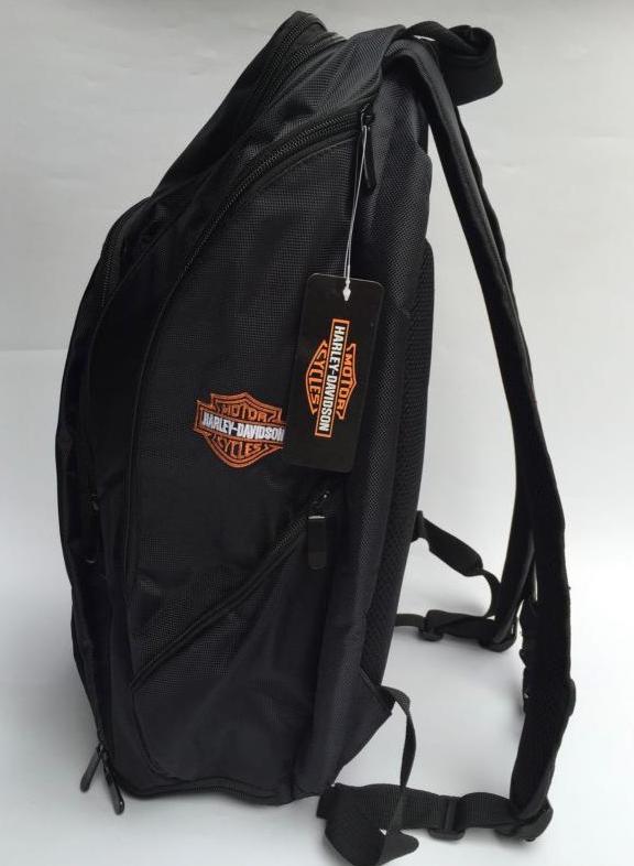 Harley-Davidson Harley Rucksack Fan Schwarz Biker Reisen Outdoor Geschenk Fanshop Kleidung & Accessoires 2