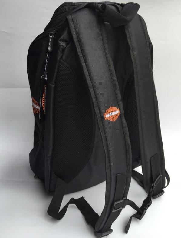 Harley-Davidson Harley Rucksack Fan Schwarz Biker Reisen Outdoor Geschenk Fanshop Kleidung & Accessoires 3