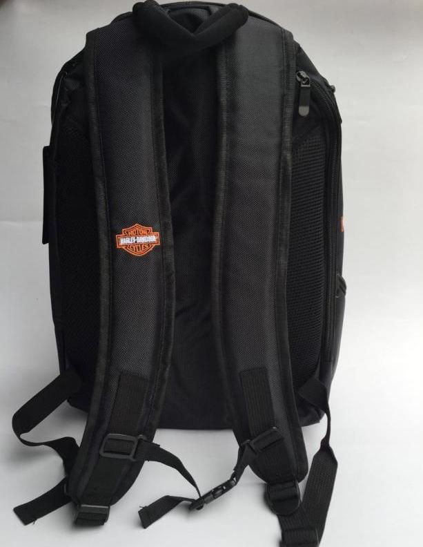 Harley-Davidson Harley Rucksack Fan Schwarz Biker Reisen Outdoor Geschenk Fanshop Kleidung & Accessoires 4