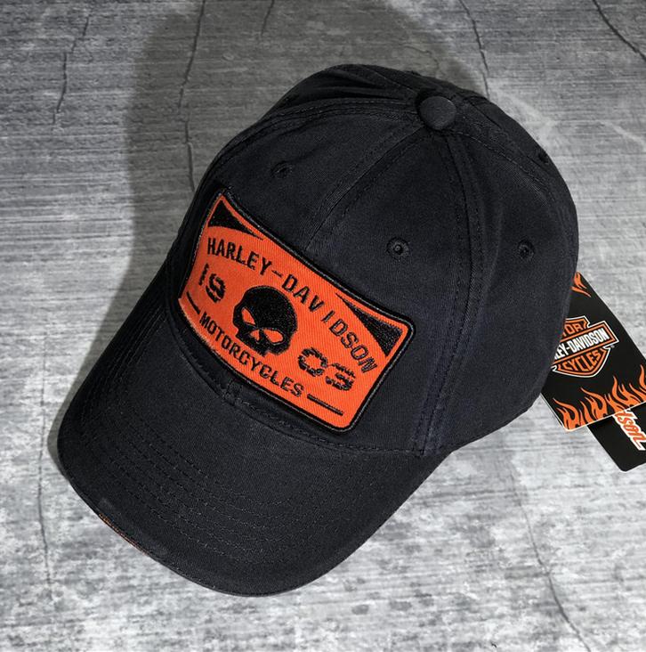Harley Fan Cap Harley-Davidson Kappe Mütze Totenkopf Skull Neu mit Etikett Kleidung & Accessoires 2