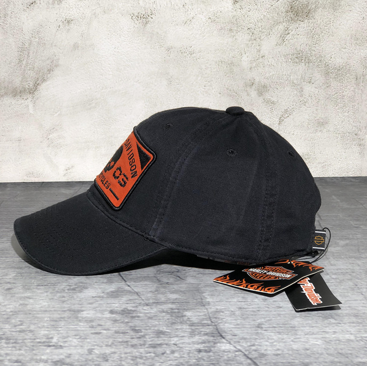 Harley Fan Cap Harley-Davidson Kappe Mütze Totenkopf Skull Neu mit Etikett Kleidung & Accessoires 3