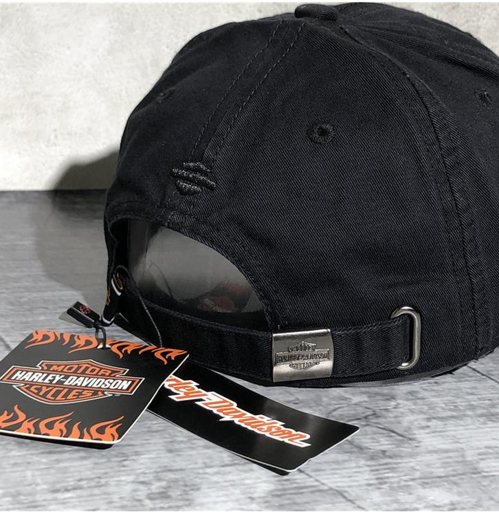 Harley Fan Cap Harley-Davidson Kappe Mütze Totenkopf Skull Neu mit Etikett Kleidung & Accessoires 4