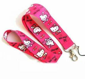 Hello Kitty Hellokitty Fan Schlüsselband Schlüsselanhänger Anhänger Band Geschenk Fan Kind Mädchen Girl Baby & Kind