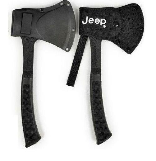 Jeep Axt Beil Outdoor Fan Survival Camping Wildnis mit Nylonhülle und Gurtschlaufe Sport & Outdoor 2